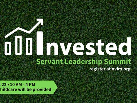 INVESTED - Servant Leadership Summit