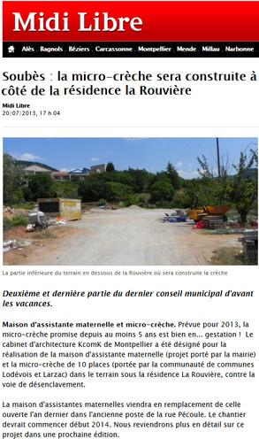 JULLET 2013 // Midi Libre