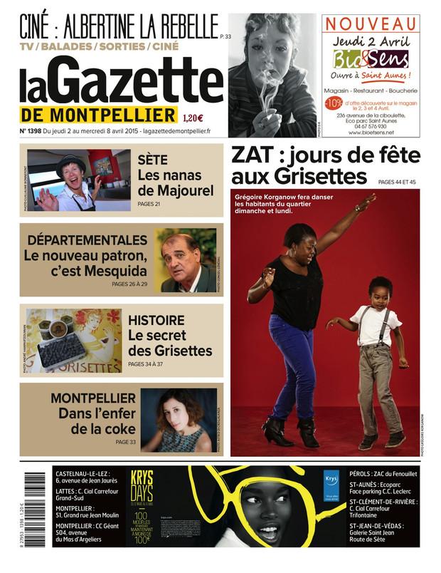 AVRIL 2015 // La Gazette