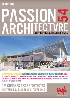 OCTOBRE 2015 // Revue Passion Architecture #54