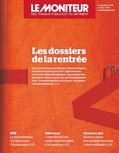 SEPTEMBRE 2015 // Le Moniteur #5833