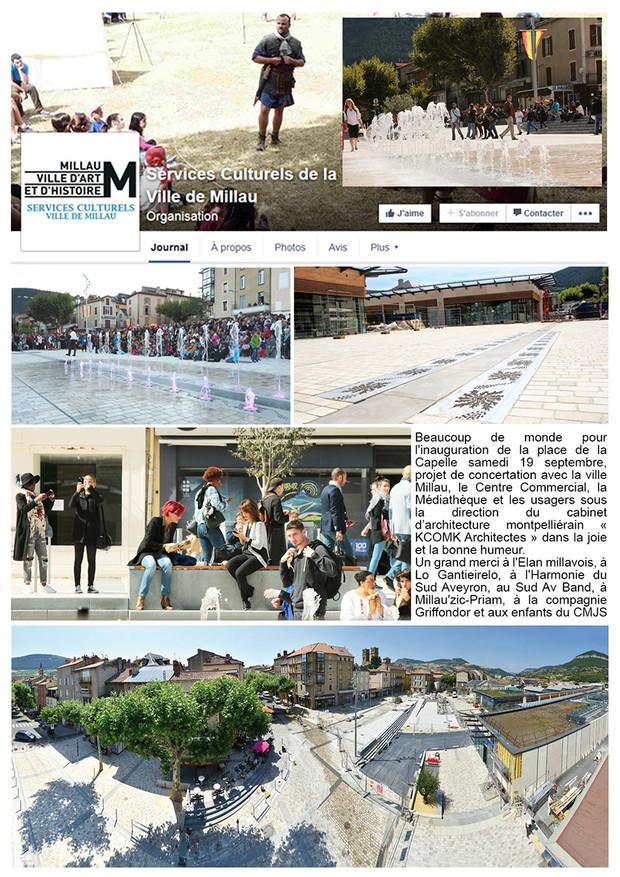 SEPTEMBRE 2015 // Millau Ville d'Art et d'Histoire