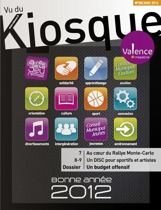 JANVIER 2012 // Le Kiosque