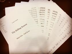 38 Piece Orchestral Score