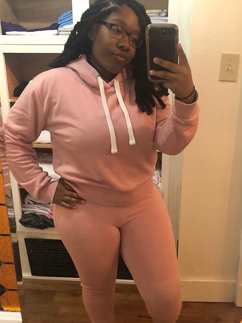 Soft Pink Sweatsuit