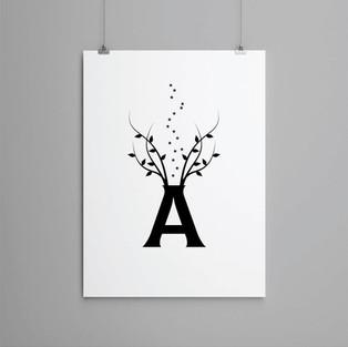 A Letter Art