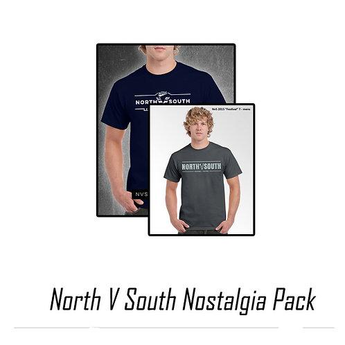 North Vs South T-Shirt Nostalgia Pack