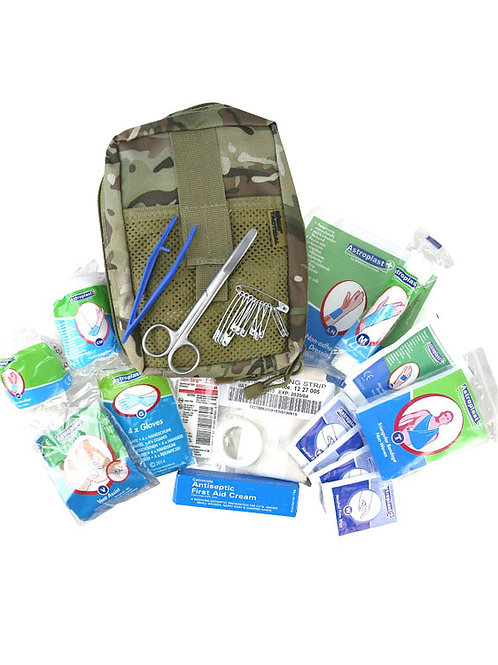 Rapid Intervention first aid kit - BTP pouch