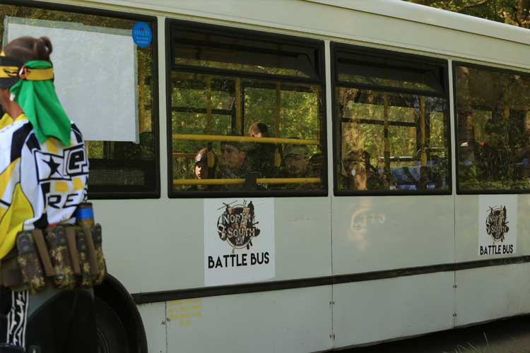 60 seater battle bus - game insertion