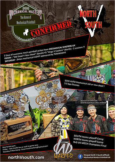 North V South Mechanical Paintball 2021