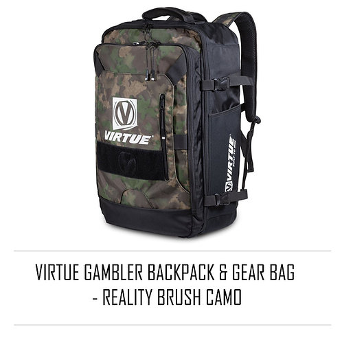 Virtue Gambler Backpack & Gear Bag - Reality Brush Camo