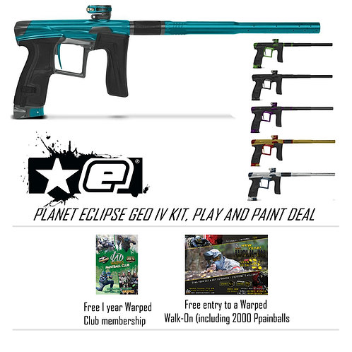 GEO IV Kit, Play and Paint Deal