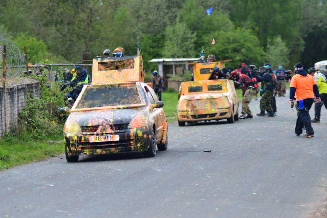North V South Tanks