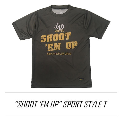 "WarpedPro ""SHOOT"" sportstyle T"