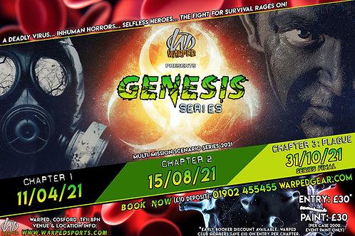 Warped GENESIS Series player ticket (deposit)