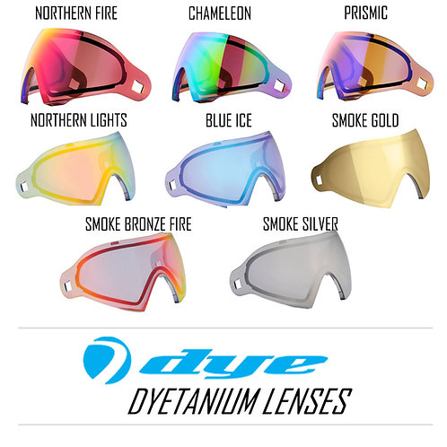 Dyetanium lenses