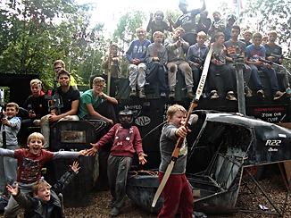 U16 activities at Warped Sports Wolverhampton