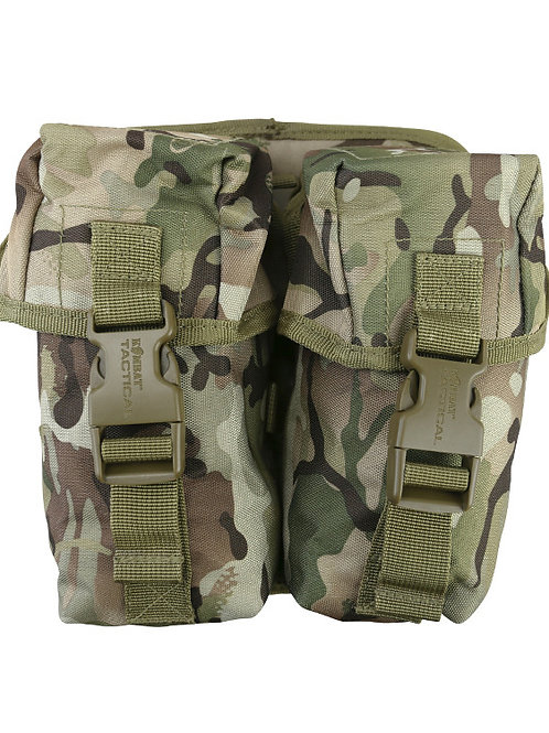 Double Ammo Pouch with Molle Fixing