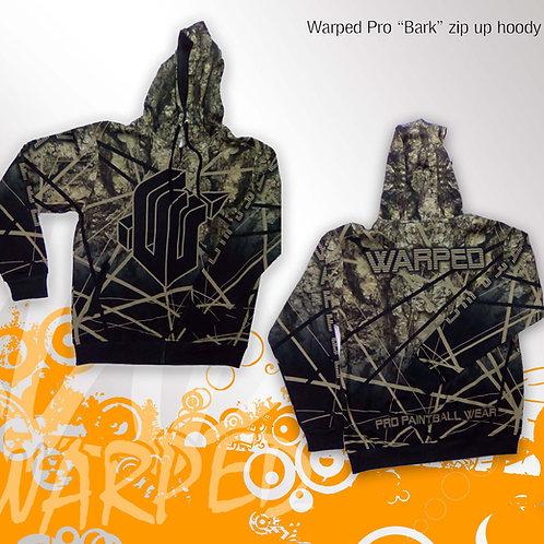 """Warped Pro """"BARK"""" zip up hoody"""