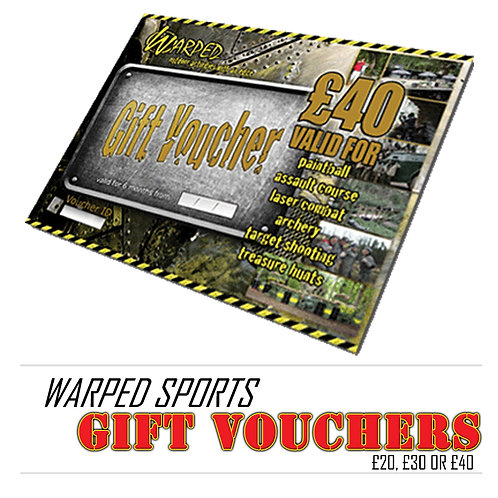 The Ultimate Warped Sports Gift Voucher