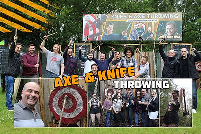 Axe & Knife throwing at Warped Sports