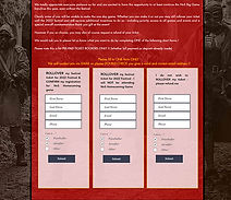 rollover ticket options button