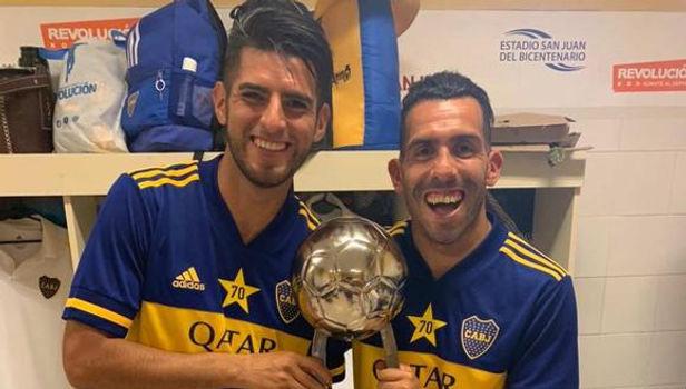 Carlos Zambrano ganó la Copa Diego Maradona con Boca Juniors