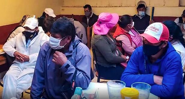 Cusco: Portadores de Covid-19 bebían junto a otras 50 personas