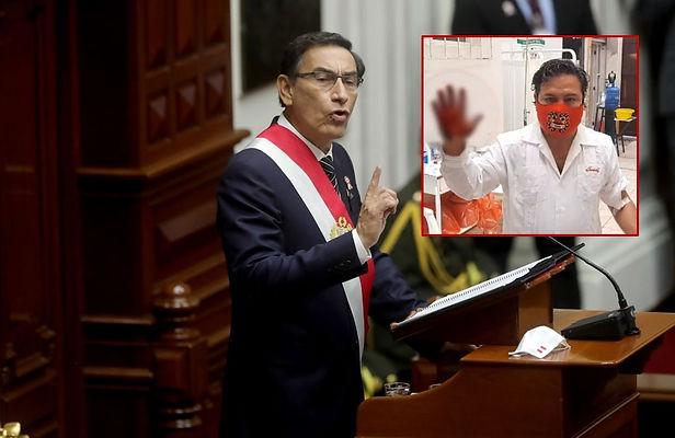Alcalde de Moche convoca a marcha contra el presidente Martín Vizcarra tras la difusión de audios
