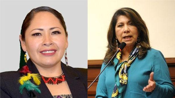 Senadora de Bolivia pide sanción por declaraciones racistas de Martha Chávez