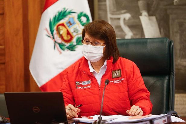"""Ministra Mazzetti: """"El consumo de oxígeno se ha incrementado alrededor en un 200%"""""""