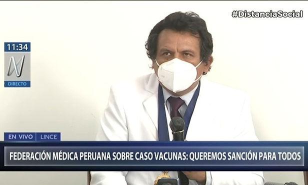 Federación Médica plantea muerte civil para vacunados irregularmente contra el Covid-19