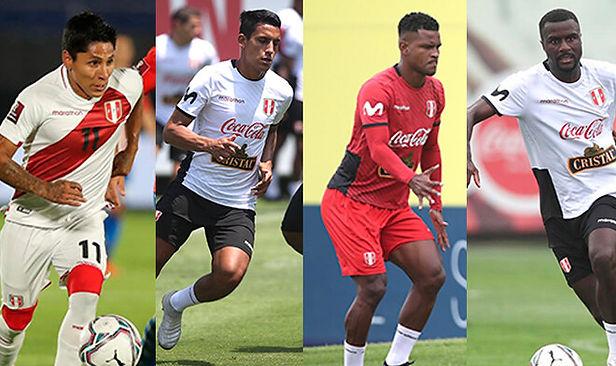 Álex Valera, Ruidíaz, Aldair Rodríguez y Ramos no jugarán contra Brasil