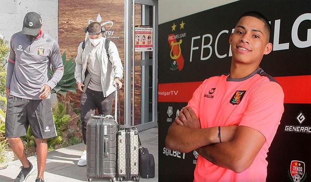 Kevin Quevedo llegó a Arequipa para unirse a entrenamientos del FBC Melgar