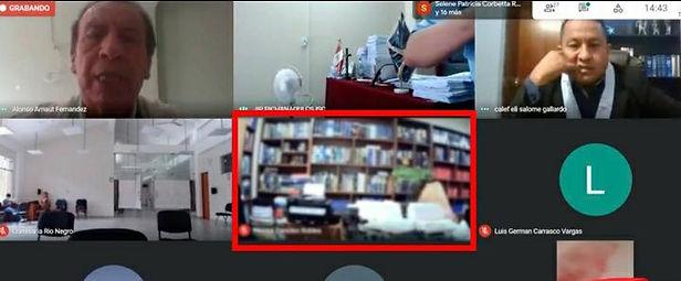 Junín: Captan a abogado teniendo intimidad durante audiencia virtual