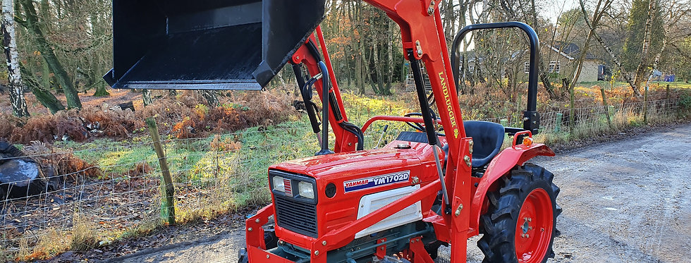 Yanmar Compact Tractor YM1702 Used Yanmar Compact Tractor With Loader | Tractor