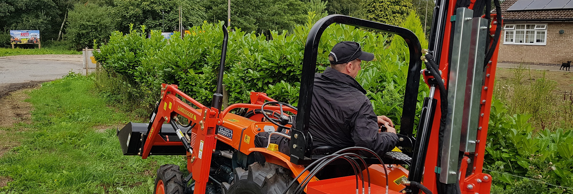 Superb Compact Tractor Hedge Cutter   Tractor Hedge Cutters For Sale