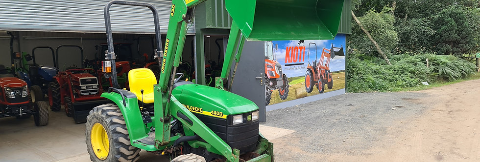 John Deere Loader Tractor For Sale 4400 and Loader