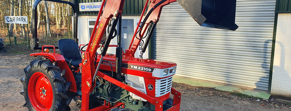 Yanmar Compact Tractor YM2210 4WD with Front Loader