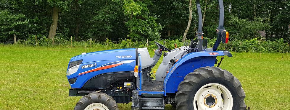 Iseki  Compact Tractor for sale TG 6490