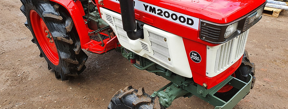 2000D Yanmar Compact Tractor For Sale | Used Compact Tractors