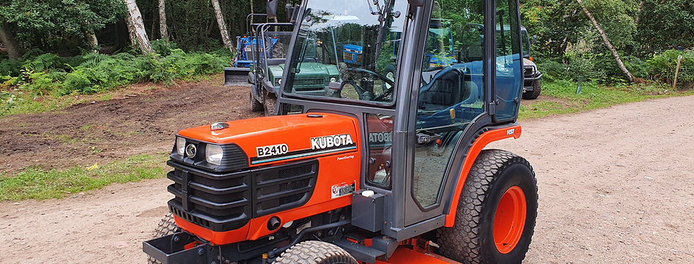 "Kubota Compact Tractor B2410 HST  & 60"" Mid Deck"