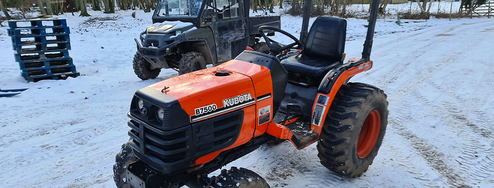 Kubota Compact Tractor B7500 21HP HST | Compact Tractors For Sale UK