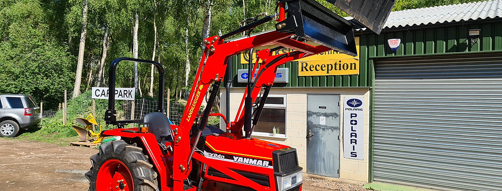 Yanmar Compact Tractor FX24DT 4WD with Front Loader