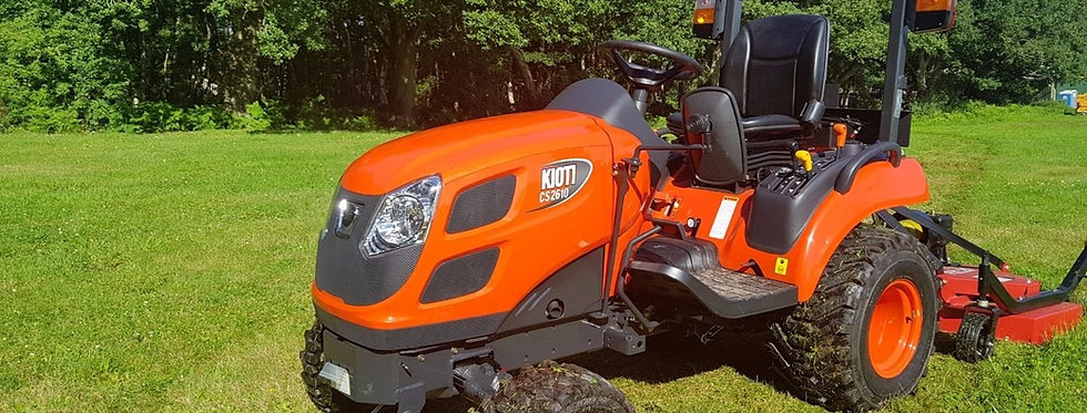 Kioti Tractor CS 2510 HST | Compact Tractors For Sale UK