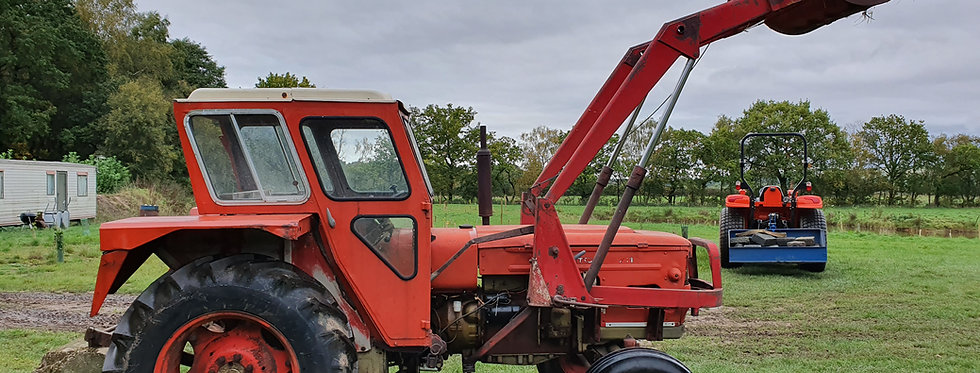 Zetor 70 hp Cab Tractor and front Front Loader