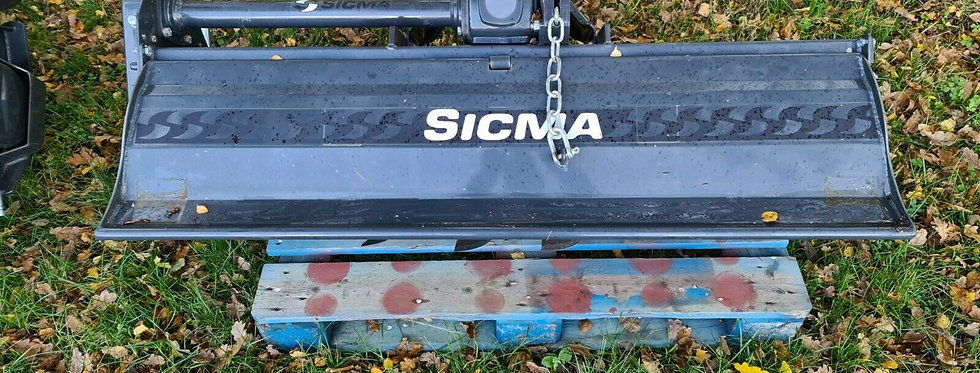 FLEMMING SIGMA COMPACT TRACTOR ROTAVATORS 1.45