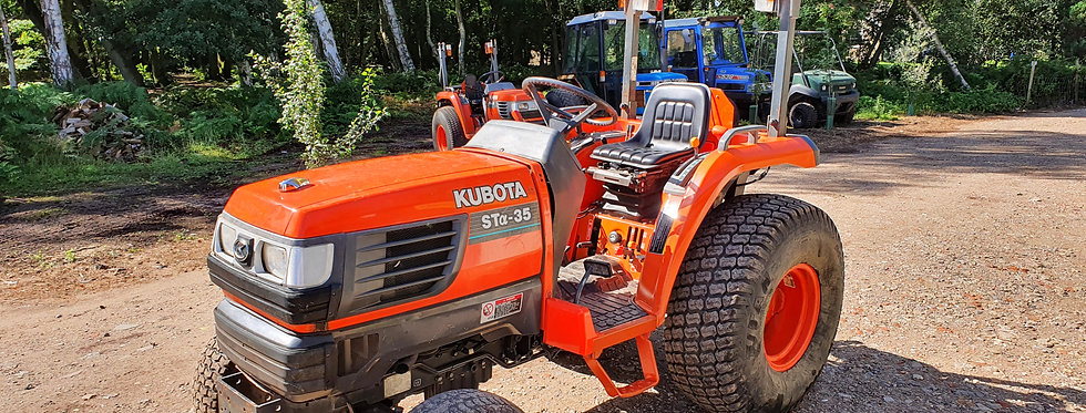 Kubota Compact Tractor STA35  36HP HST | Compact Tractors For Sale UK