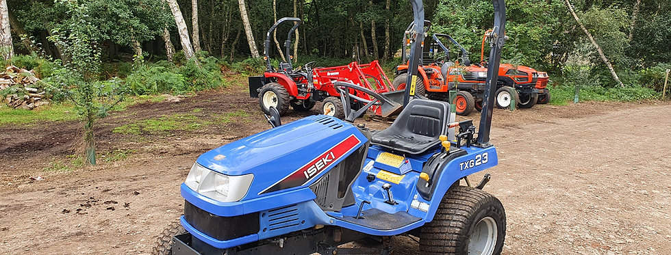 Iseki Compact Tractor TXG23 23HP HST | Compact Tractors For Sale UK