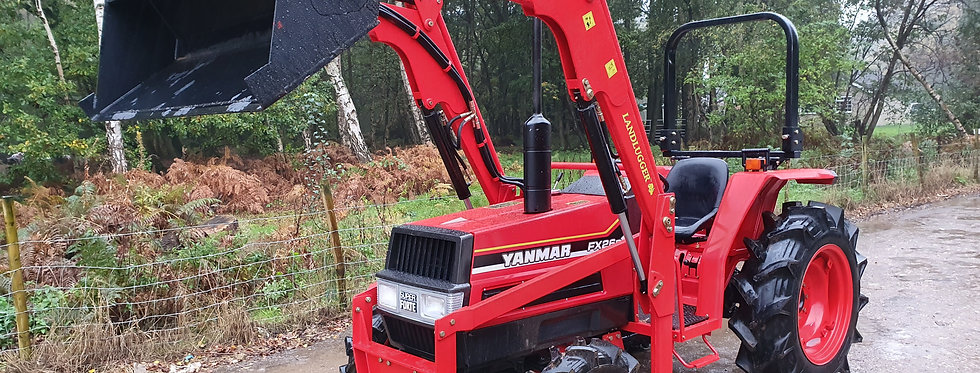Yanmar Compact Tractor FX26D 4WD with Front Loader